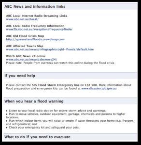 Queensland Police Facebook Page: Best Practice in Public